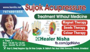 Sujok Colour Therapy for Diabetes, Healer Nisha Pain Care ...
